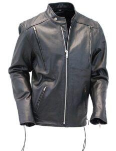Mens Black Leather Jacket blog
